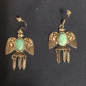 Fashion Jewelry Eagle Bird Tribal Earrings